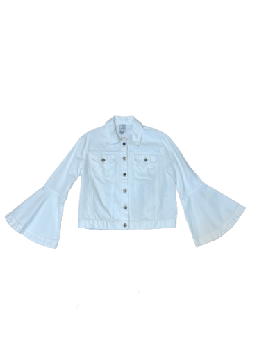 EDIT Denim Bell Sleeved Jacket XS